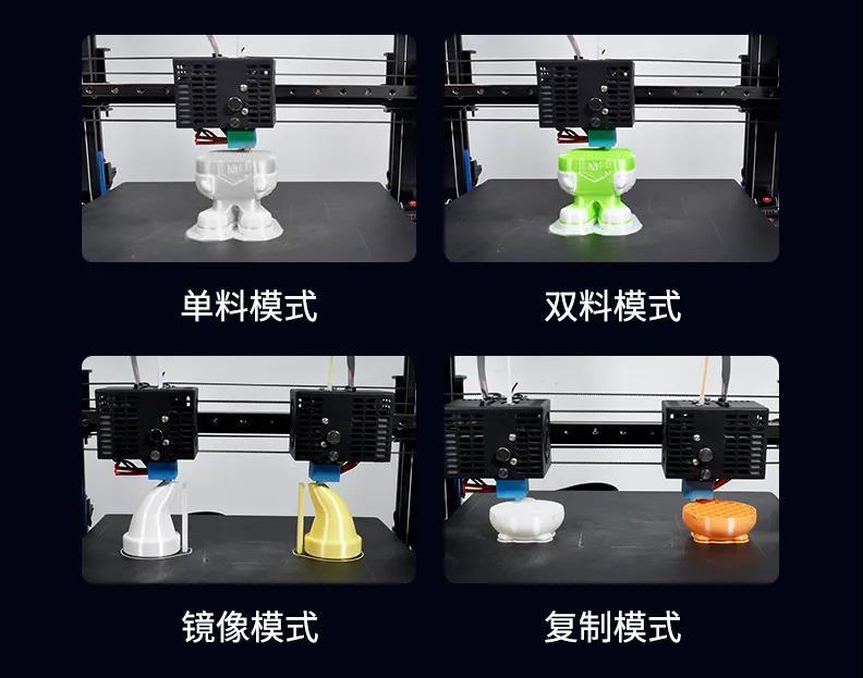 4种打印模式